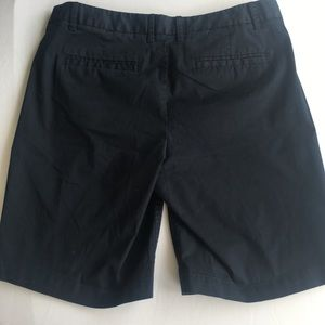 J Crew ladies navy Bermuda shorts